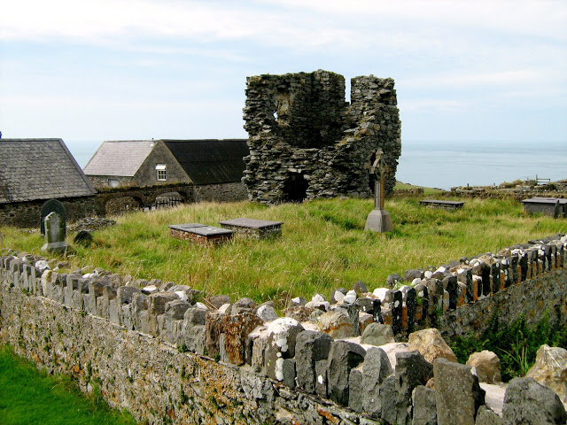 Arrivare a Bardsey Islands in Galles