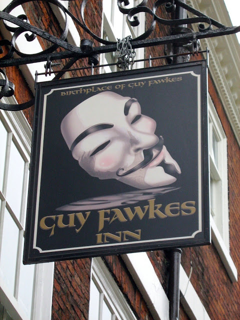 York Guy Fawkes