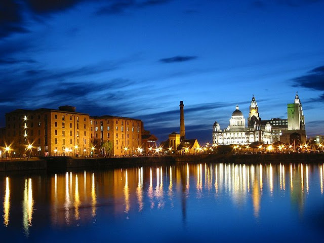 Liverpool Albert Dock Inghilterra