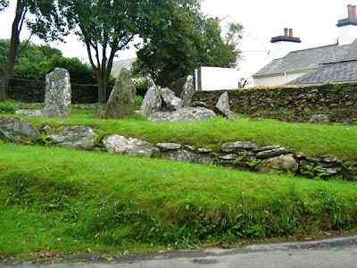Isola di Man la tomba di Re Orry