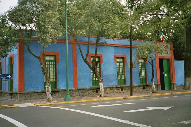 Coyoacan Casa di Frida Kahlo in Messico
