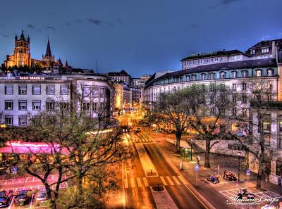 Viaggio a Lausanne (Svizzera)