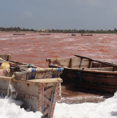 Lac Rose, Senegal