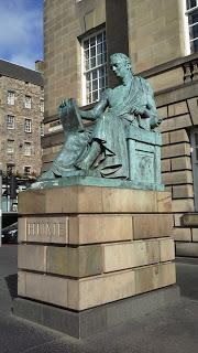 Statua di David Hume