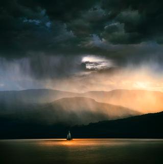 Viaggiare con la pioggia