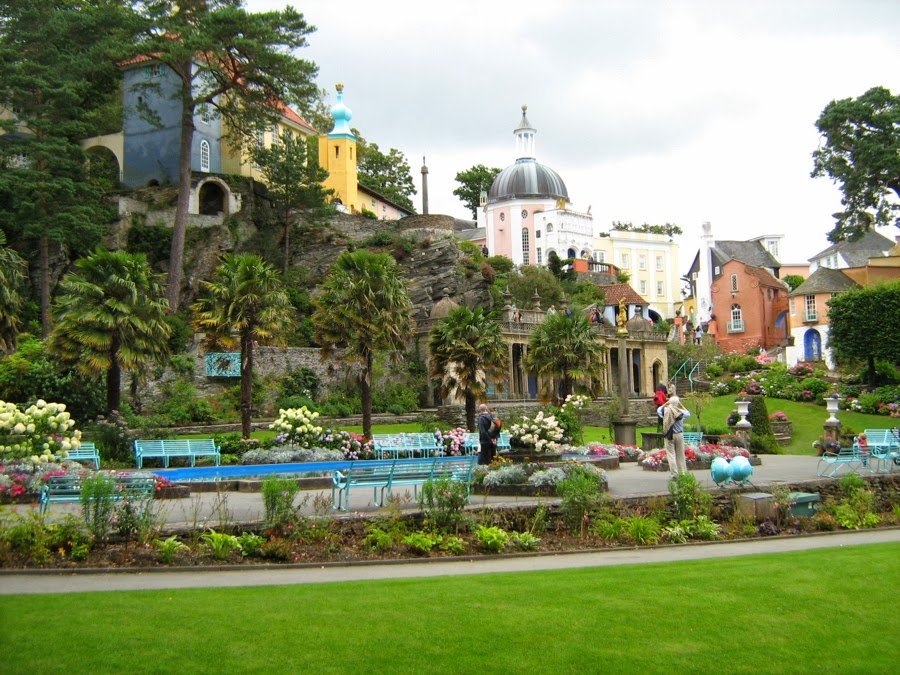 Visitare Portmeirion in Galles