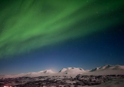 Vedere l'Aurora Boreale in Svezia