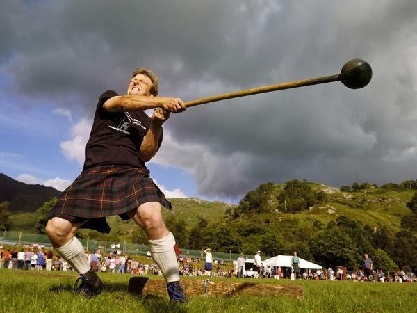 Assistere agli Highlands Games 2014