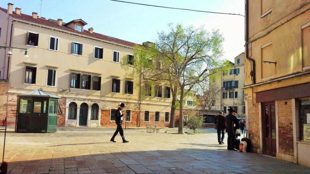 Venezia il Ghetto Ebraico