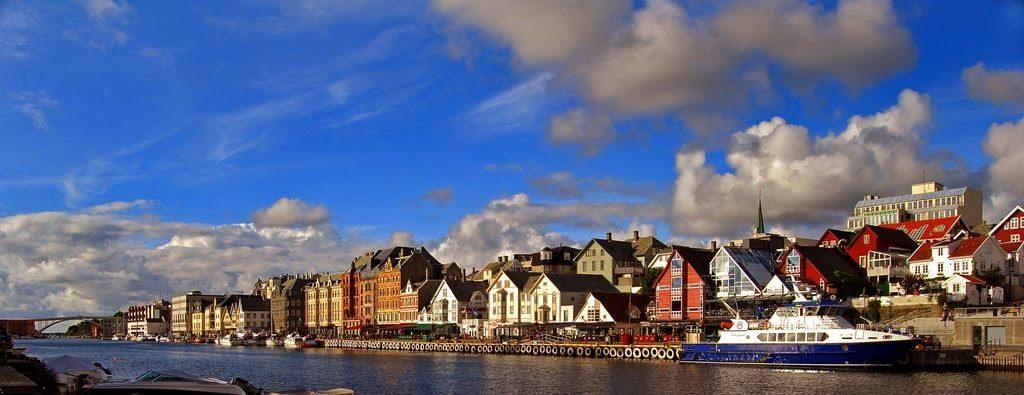 Viaggio a Haugesund Norvegia