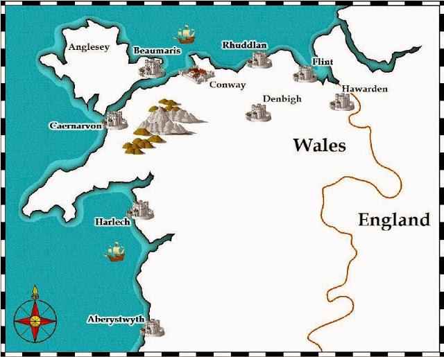 Visitare i Castelli dell'Iron Ring in Galles
