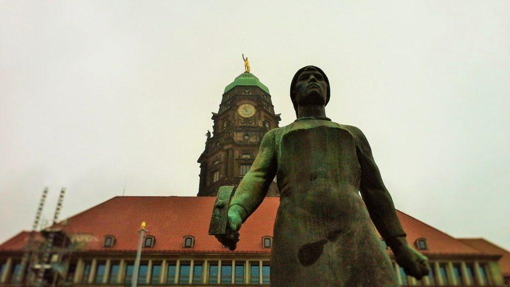 Trümmerfrau aus Dresden