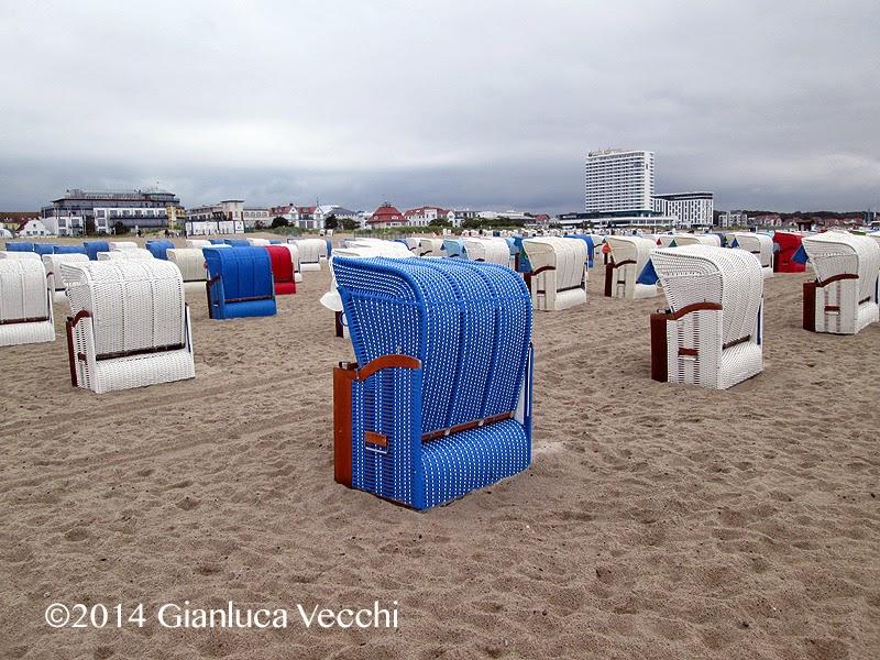 In spiaggia sul Baltico
