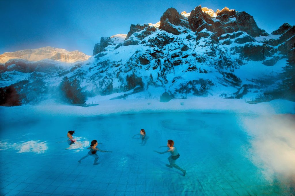 Leukerbad: le Terme sulle Alpi | Emotion Recollected in Tranquillity