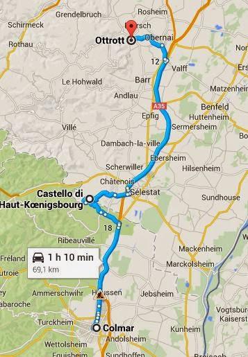 Itinerario in Alsazia