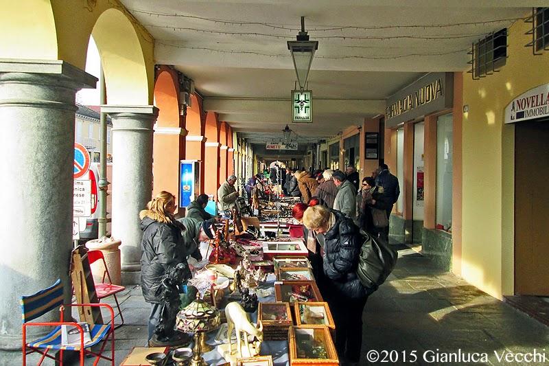 Il mercatino dell'Antiquariato a Novellara