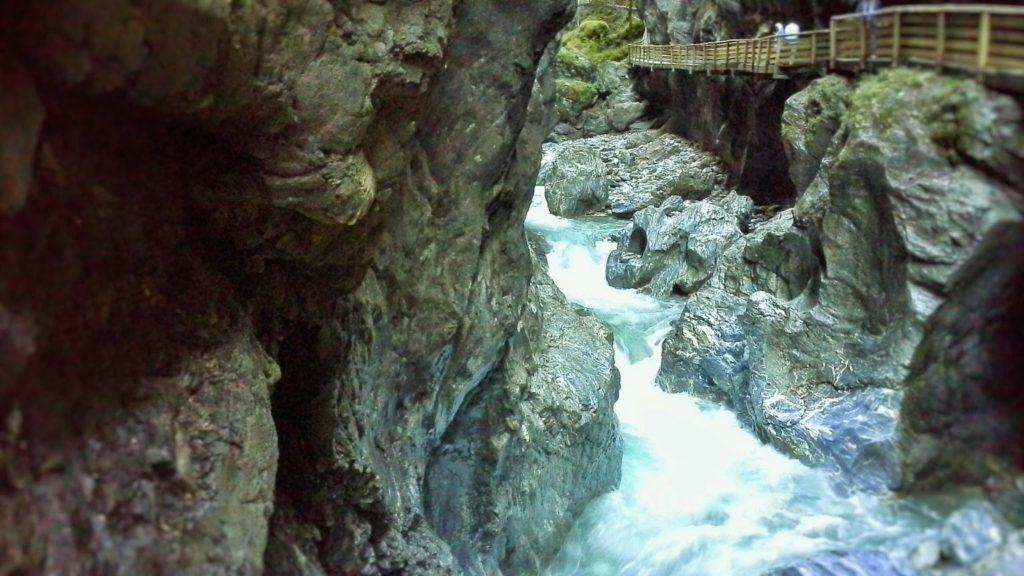 visitare la Liechtensteinklamm in Austria
