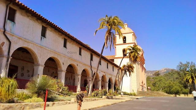 Visitare la missione Spagnola a Santa Barbara
