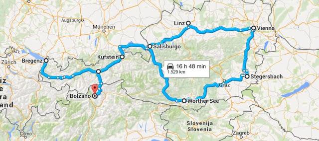 Viaggiare in Austria