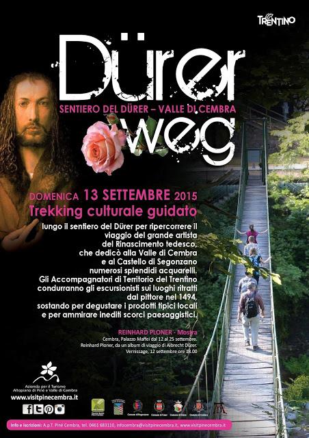 Evento Dürerweg Val di Cembra