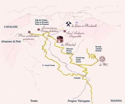 Dove si trova la Valle dei Mocheni