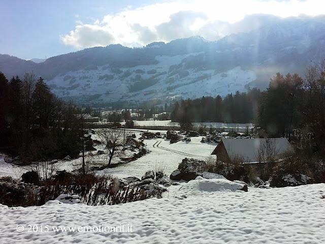 La Svizzera dal Treno