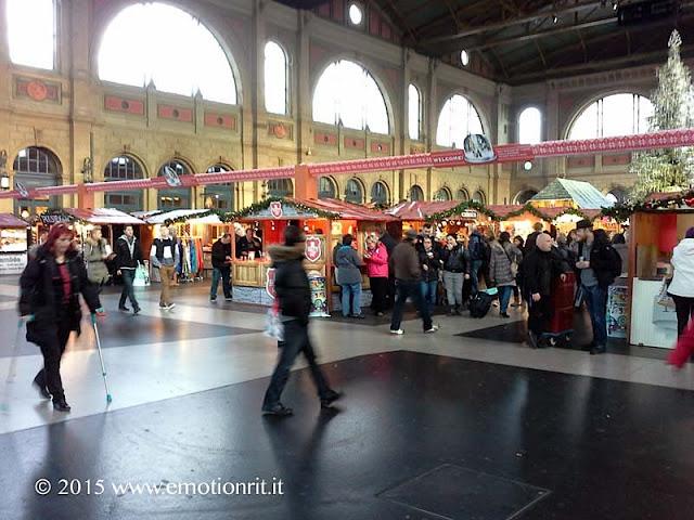 La stazione di Zurigo