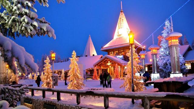 Visitare Rovaniemi in Finlandia