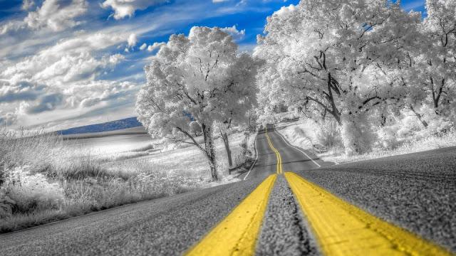 Viaggi on the road da fare d'inverno
