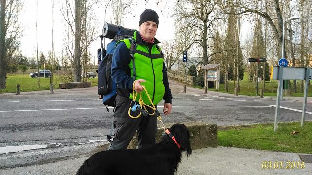 Cammino di Santiago con un cane