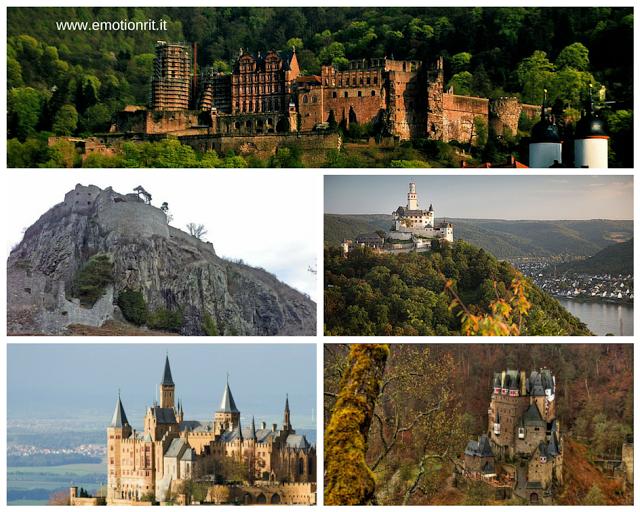 Castelli da visitare in Germania