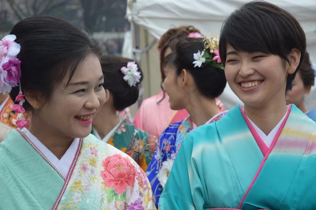 L'uso del kimono in Giappone