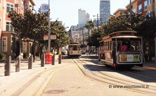 Calfornia: i cable car di San Francisco