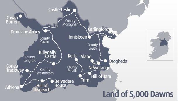 Luoghi preistorici in Irlanda