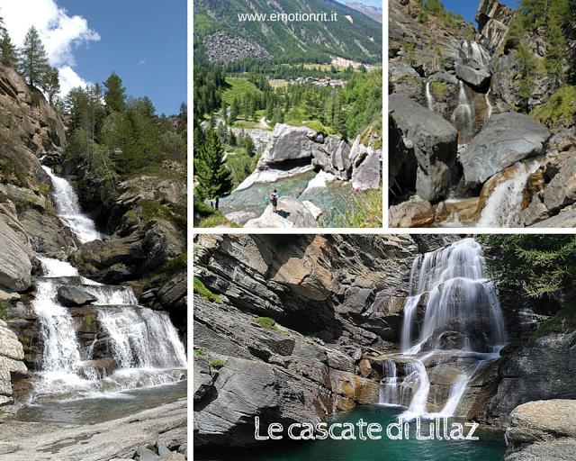 Cogne: le cascate di Lillaz