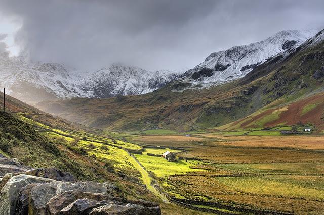 Snowdonia in Galles