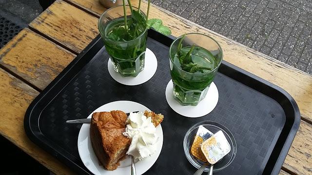 Tea alla menta Winkel Amsterdam