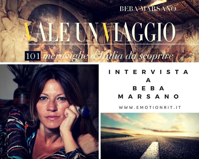 Vale un viaggio: il libro di Beba Marsano