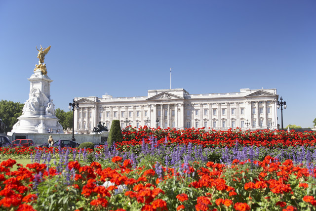 Location di The Crown: Buckingham Palace