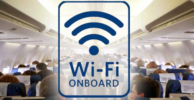 Compagnie che offrono il wifi in volo